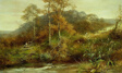 Autumn River Scene, The Brook