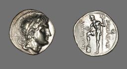 Tetradrachm (Coin) Portraying Demetrios I of Macedonia