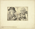 Two Bust-length Caricatures