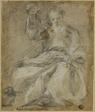 Seated Bearded Figure (Prophet?)