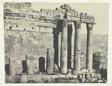 Baalbeck (Héliopolis), Temple Du Jupiter, Façade Occidentale; Syrie