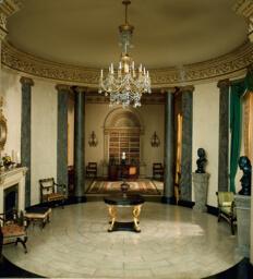 E-13: English Rotunda and Library of the Regency Period, 1810-20