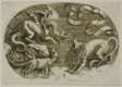 Lion, Dragon and Fox