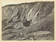 Hydraulic Gold Mining, Near Dutch Flats, California, C. P. R. R.
