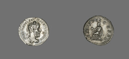 Denarius (Coin) Portraying Macrinus