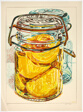 Preserved Peaches, from 1776 USA 1976: Bicentennial Prints