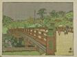 "Benkei Bridge at Akasaka Mitsuke (Akasaka Mitsuke Benkeibashi), from the series ""Recollections of Tokyo (Tokyo kaiko zue)"""