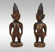 Twin Commemorative Figures (Ere Ibeji)