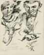 Study (for the Portrait of Goeritz and His Wife)