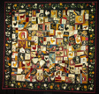 Crazy Quilt with Animals