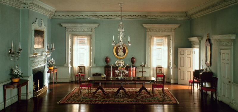 A19 maryland dining room 1770 74 the art institute of - African american interior designers chicago ...