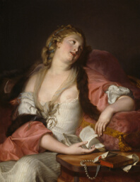 Lady Reading the Letters of Heloise and Abelard