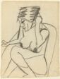 Seated Female Nude