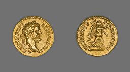 Aureus (Coin) Portraying Emperor Septimus Severus