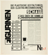 """Text Sheet, plate from Figurines: The Three-Dimensional Design of the Electro-Mechanical Show: """"Victory over the Sun"""""""