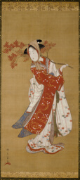 Dancer with a Maple Branch