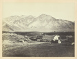 Wasatch Range of Rocky Mountains, From Brigham Young's Woolen Mills