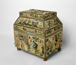 Casket Depicting Scenes from the Old Testament