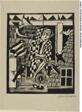 Die Eule, from Bauhaus-Drucke. Neue Europäische Graphik. Erste Mappe