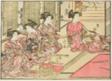 "Courtesans of Kiriya, from the book ""Mirror of Beautiful Women of the Pleasure Quarters (Seiro bijin awase sugata kagami),"" vol. 2"
