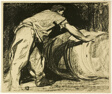 A Cooper at Work, plate 15 from The Spirit of the Age: The Work of Frank Brangwyn A.R.A.