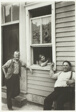 People in Summer, New York State Town