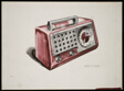 Fada Radio Design, Red Radio: Presentation Drawing