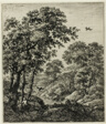 Elias in the Wilderness, from Six Landscape Subjects from the Old Testament