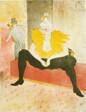 Seated Female Clown (Mademoiselle Cha-U-Kao), plate one from Elles