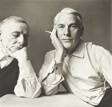 Frederick Kiesler & Willem de Kooning, New York