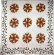 Bedcover (Slashed Star or Rose Window Quilt)