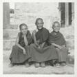 Three Students at Gompa School, Ladakh, India