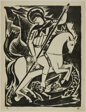 St. George (Bringer of Victories), from War: Mystical Images of War