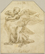 Cupid Astride an Eagle