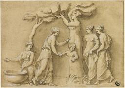 Birth of Adonis