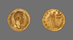 Aureus (Coin) Portraying Emperor Lucius Verus