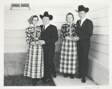 Double Wedding, O.K. Colony, Raymond Alberta, Canada