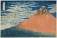 "A Mild Breeze on a Fine Day (Gaifu kaisei), from the series ""Thirty-six Views of Mount Fuji (Fugaku sanjurokkei)"""