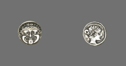 Drachm (Coin) Depicting the Gorgon Medusa
