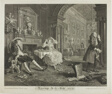 Plate Two, from Marriage à la Mode