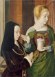 Madeleine of Burgundy Presented by Saint Mary Magdalene