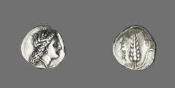Stater (Coin) Depicting Kore