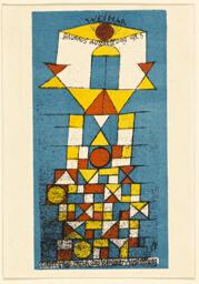The Sublime Aspect (Postcard for the Bauhaus Exhibition)