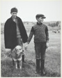 Two Shepherd Boys, Massif Central, France