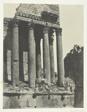 Baalbeck (Héliopolis), Temple De Jupiter, Vue Prise à L'Angle Sud-est; Syrie