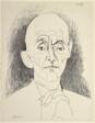 Portrait of D. H. Kahnweiler III
