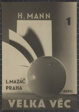 The Big Thing (Cover Design for Velká Vec by Thomas Mann)