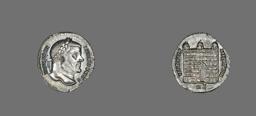 Denarius (Coin) Portraying Galerius Maximianus