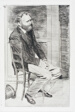 Manet Seated, Turned to the Right