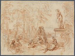 Study for The Feast of Love